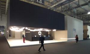 allestimento stand alla fiera Euroluce di Milano
